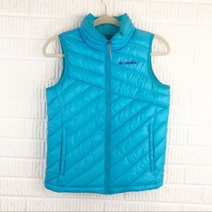 • Columbia quilted lake vest